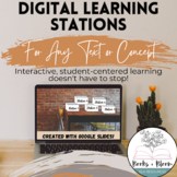 Digital Learning Stations for Any Unit: Google Slides - Di