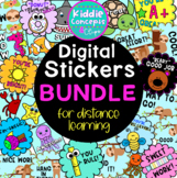 Digital Learning Stickers BUNDLE for Distance Learning #di
