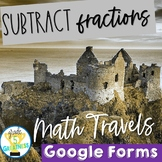Math Google Forms Subtract Fractions Digital Learning and Travel