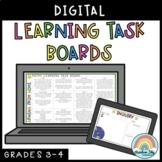 Digital Learning Task Boards (Distance Learning Grade 3 &