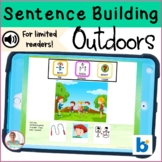 BOOM Cards   Digital Speech Therapy    Sentence Building  
