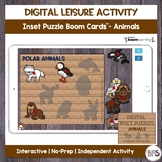 Digital Leisure Activity | Single Inset Puzzle | Animal Th