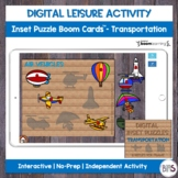 Digital Leisure Activity | Single Inset Puzzle | Vehicle T