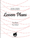 Digital Lesson Plan Book - Rose in the Navy