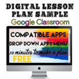 Digital Lesson Plan Template