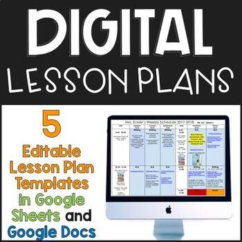 Reading Specialist Lesson Plan Template Teaching Resources