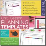 Digital | Lesson Planning Materials TEMPLATES