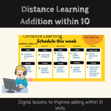 Digital Lessons: Addition within 10 Skill Builder