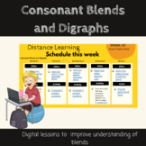 Digital Lessons: Consonant Blends and Digraphs