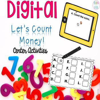 Digital Let's Count Money Center Activities