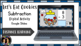 Digital Let's Eat Cookies Subtraction Activity (Google Sli