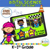 Digital Let's Learn Opposites: Fast or Slow Science