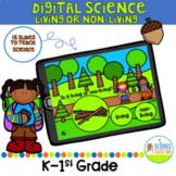 Digital Let's Learn Opposites: Living or non-living Science