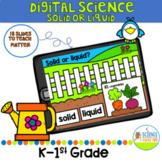 Digital Let's Learn Opposites: Solid or Liquid Science