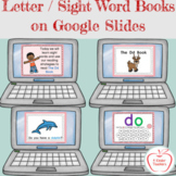 Digital Letter Books / Sight Word Books - Interactive - Go