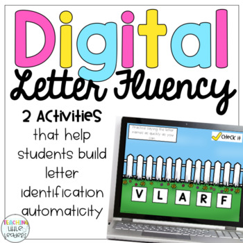 Digital Letter Identification Fluency