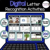 Digital Letter Recognition Activities for Google Classroom