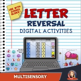 Digital Letter Reversal Activities for Distance Learning