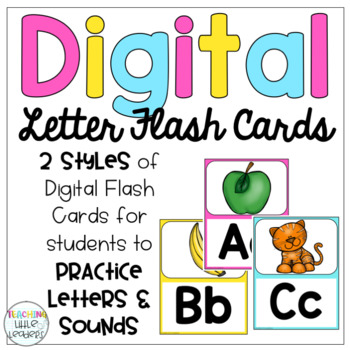 Digital Letter/Sound Flash Cards