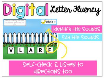 Digital Letter Sound Fluency