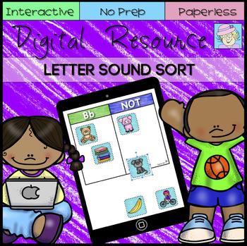 Digital Letter Sound Sort