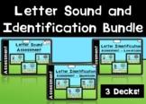 Digital Letter Sound and Identification Assessment Bundle