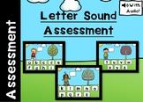 Digital Letter Sounds Assessment Boom Cards™