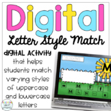 Digital Letter Style Match