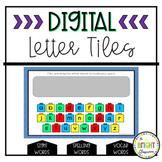 Digital Letter Tiles- Distance Learning