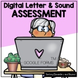 Digital Letter and Sound Assessment in Google Forms