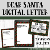 Digital Letter to Santa with Prompt
