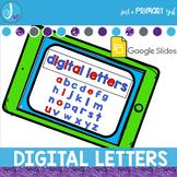 Digital Letters Google Slides™