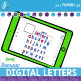 Digital Letters Seesaw Learning™