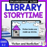 Digital Library Lesson -- Fiction and Nonfiction -- Distan