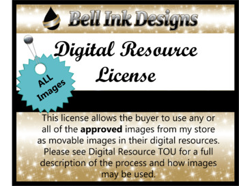 Digital Resource License All Images