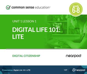 Digital Life 101: Digital Citizenship LITE