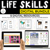 Digital Life Skills Bundle for Special Education