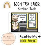 Digital Life Skills Kitchen Task Card!