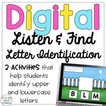 Digital Listen and Find Letter Identification