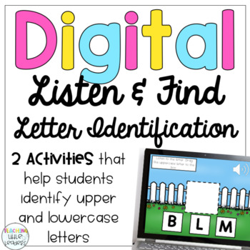 Digital Listen and Find Letter Identification
