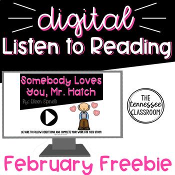 Digital Listen to Reading Center: FREEBIE