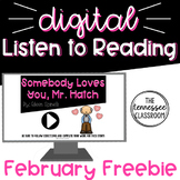 Digital Listen to Reading Center: FREEBIE