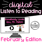 Digital Listen to Reading Center: February
