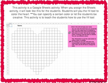 Computer Technology Lessons Digital Literacy Valentine's Activity