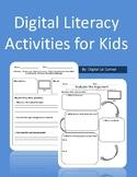 Digital Literacy (Citizenship) Activities for Kids