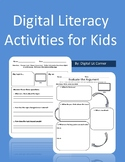 Digital Literacy (Citizenship) Activities for Kids