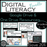 Digital Literacy Bundle: Bias, Evaluate Websites, Fact Check, Wikipedia {Google}