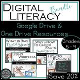 Digital Literacy Bundle: Bias, Evaluate Websites, Fact Che
