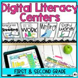 Digital Literacy Centers   100 Center Activities   SeeSaw