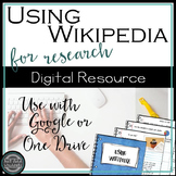 Digital Literacy: How Wikipedia Works {Google Drive}